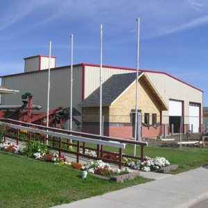 Pouce Coupe, BC fire hall