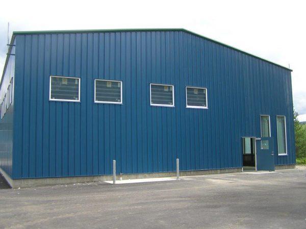 Dunkley Lumber Squash Court and Hangar