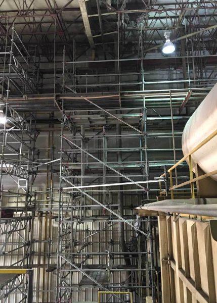 Scaffolding - Fire Damage Repairs