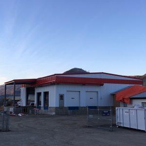Bandstra Kamploops Commercial Steel Structure