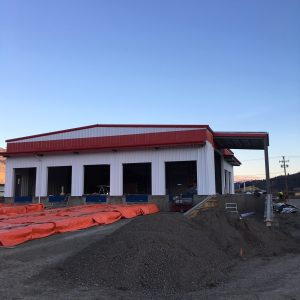 Bandstra Kamploops Commercial Steel Structure by Heartland Steel Structures