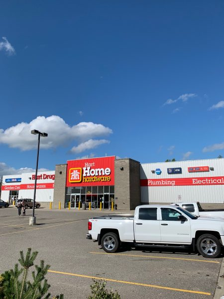 Home Hardware, Prince George Commercial Project