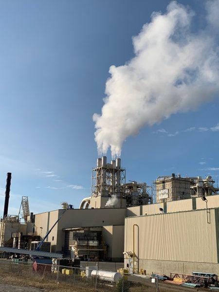 Westpine refiner tower roof reno