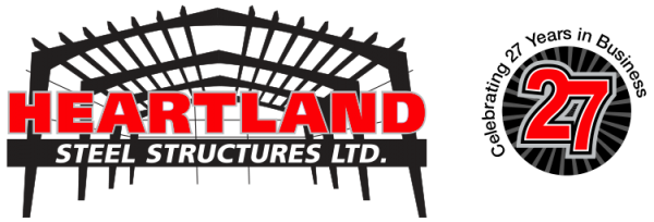 Heartland Steel logo - 27 years in business